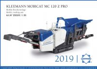 Conrad Kleemann Mobicat MC 120 Z Pro Mobile crushing unit